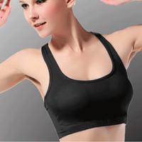 New arrive women's sportswear yoga top stretch yoga gym wear no rims sport top for women sport tanks top vest bra