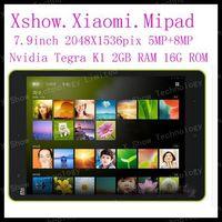 Original Xiaomi Mi Pad Xiaomi Mipad 7.9 inch 16GB 64GB Nvidia Tegra K1 Quad Core 2.2GHz IPS 2048X1536 2GB RAM 8MP MIUI Tablet PC