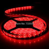 Waterproof 5m 3528 SMD 12V flexible light 60 led/m,LED strip IP65 Waterproof, white/warm white/blue/green/red/