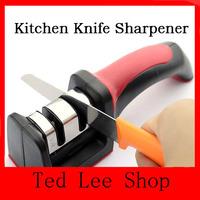 HOT SALE Two Stages (Diamond & Ceramic) Kitchen Knife Sharpener ,Sharpening Stone Household Knife Sharpener Kitchen Knives Tools