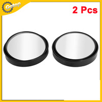 59mm Round Convex Blind Spot Mirror for Auto Car Convex Mirror 2pcs Black Plastic  Car Rear View Blind Spot Mirror Car Mirror