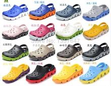 Cro Duet Sports Clogs2014 Wholesale Summer women/men brand sandals flat shoes, Flip flops,slippers(China (Mainland))