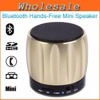 2014 Mini Bluetooth Speaker Mobile Phone Handsfree With Microphone FM Radio Mini Wileress Bluetooth Speakers Metal Speaker D93