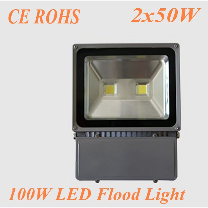 Прожектор MES 100W 85/265v 9000LM 100W LED flood light 1pc 100w canbus bau15s py21w error free 1156py amber yellow 20 led 3030smd 7507 ac12v 24v