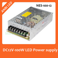 Hot sale MEAN WELL high quality 100W  Switching Power Supply,220V~240V AC input,12V DC Output