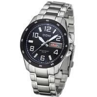 Relogio masculino Brand new Dom M-132D Luminous quartz watches men wristwatch calendar men's luxury full stainless steel watch