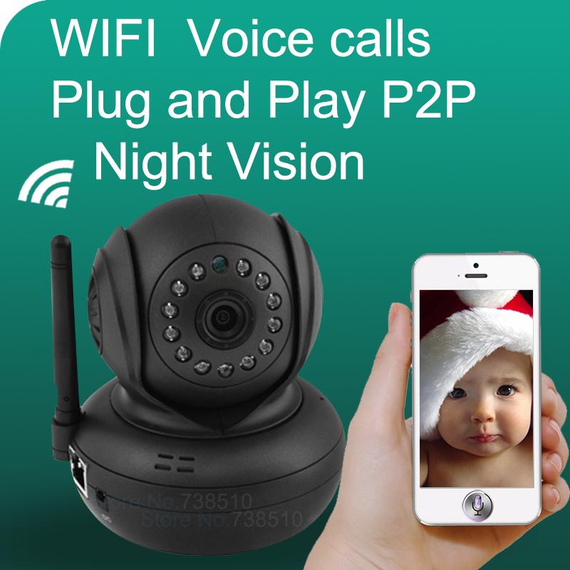 2015 Brand New Baby video Monitor P2P Ip Camera Wireless WIFI Home Security Surveillance System CCTV Camera With IR Night Vision(China (Mainland))