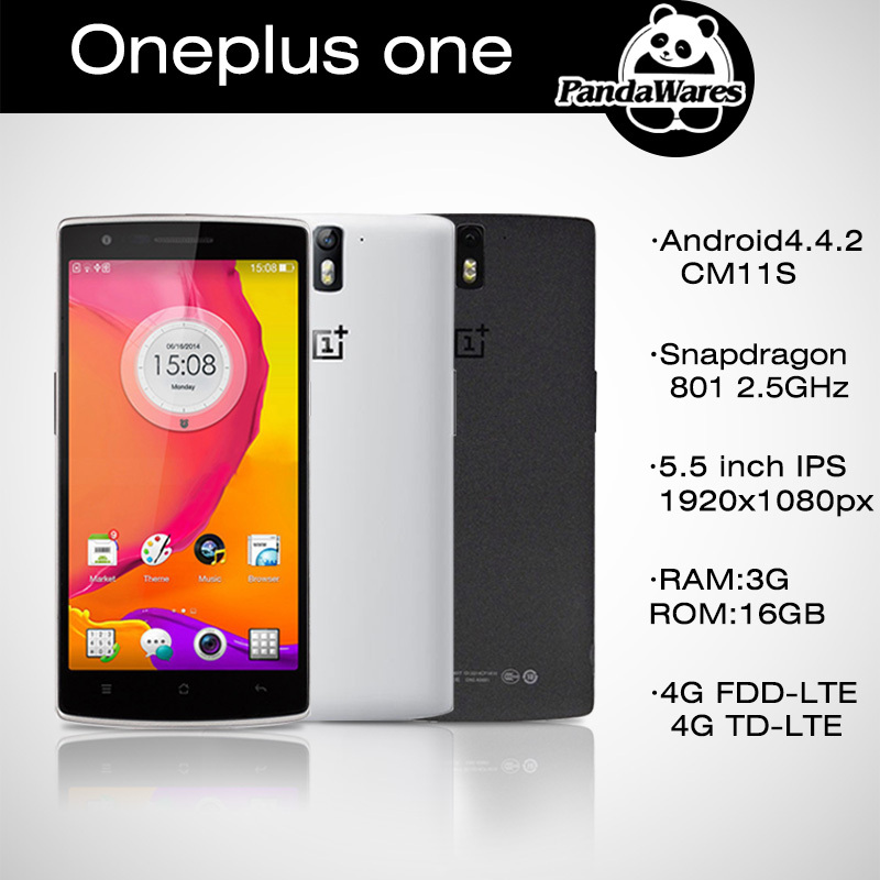 2014 top fasion Sekunden töten oneplus eins plus 16gb handy qualcomm snapdragon801 Quad-Core 5,5 ips 1920x1080 3gb ram 13mp