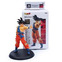 Free Shipping 1pc Dragon Ball Z Action Figures Goku Piccolo Super Saiyan and Demon King PVC 23cm toys boys gift