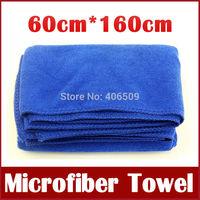 60cmx160cm Microfiber Towel Car Cleaning Towel Car Washing Cloth Bath Towel Shower Towel Water Absorbent Free Shipping 260g
