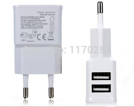 Зарядное устройство для мобильных телефонов Ansonchina 2 2A USB 5V iphone 5g 5s Samsung n7100 i9500 QC002A0715 автомобильное зарядное устройство tronsmart c3pta 2x2 4a 2a qc3 0 usb черный