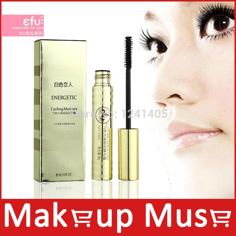 1 Pcs,High Cost Performance! Professional Brand Makeup Efu Energetic Curling Mascara, Lengthening mascara cosmetics 8g #7029(China (Mainland))