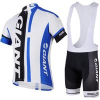 2014 GAINT Cycling suit jersey +bib shorts road bike team bicycle clothing cycling wear S-3XL