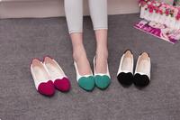 2014 New UK Fashion  Women casual  flats shoes women's sweet girls patchwork flats Loafers shoes women 2014