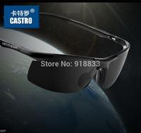 2014 New Fashion Summer Sport Male sunglasses polarized sun glasses aluminum magnesium alloy Polaroid Sunglasses 4 color options
