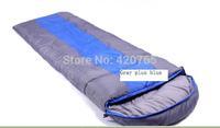 Hot 2014 New Envelope Sleeping bag (190+30)*75CM 3 Season Outdoor Hiking sleep bag for Camping sleeping bag  #6960