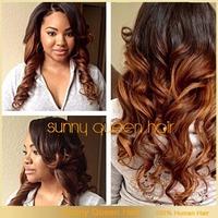 Full lace wigs black T #33 two tone ombre lace wigs 130 density brazilian free shipping