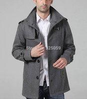New Arrival Long Winter Wind Men Coats Stylish Winter Warm Trench Coat For Women Wind Man Coat For Winter 2014