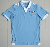 Free Shipping! TOP 3A+++ Thai Quality 2014 15 Lazio Home Blue Jersey