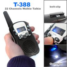 0.5W UHF 22 Channels Two Way Radios Mini Walkie Talkie Travel T-388