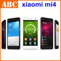 """original Xiaomi Mi4 M4 Qualcomm Snapdragon 801 Quad Core 5"""" 1920X1080 3GB RAM 16GB/64GB ROM 13MP Android 4.4 Phones NFC GPS MIUI"""