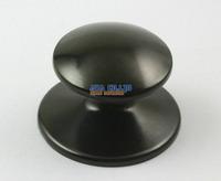 4 Pieces Home Kitchen Universal Replacement Pot Lid Cover Black Handle Knob