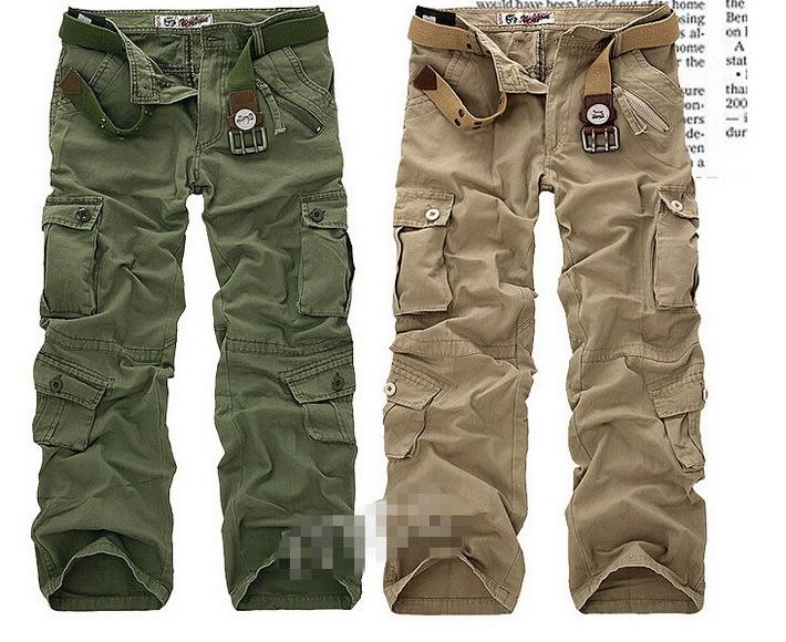 Baggy Khaki Cargo Pants For Men Plus Size Mens Cargo Pants