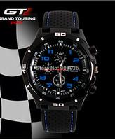 Fashion Wristwatches Men Sports Watches Luxury Brand Grand Touring GT Silicone Men Quartz Military Watch