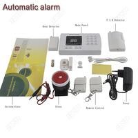 high sensitivity Auto Dialing Dialer Wireless 99 defense zones PIR alarm security system Burglar Voice Alarm System