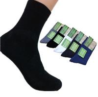 10pcs=5pair High Quality 2014 Brand New Men Socks male Bamboo cotton Autumn-Winter sport socks&striped socks for men free Size