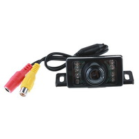 E350 Car Rear View Camera Reverse Backup Camera with 7 LED Waterproof Color CMOS Camera
