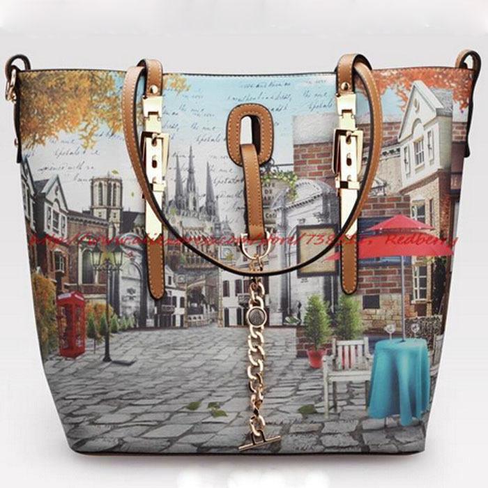 Nouveau sac à bandoulière impression 2014 occasionnelsprix vintage. femme sac à main sac à bandoulière sacs femmes chaudes frais, messenger bag sac en cuir des femmes