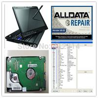 Laptop auto diagnostic software alldata 10.53 all data repair software data for Asian/European/American Cars/Trucks
