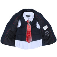 2014 New Regular Solid Flat Suits for Boys Hot Selling !! Four Piece Classic 100% Polyester Light Boys Formal Suit Blazer Jacket