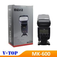 Meike MK-600 MK600 E-TTL TTL Flash Speedlite light for Canon 580EX II EOS 6D 60D 700D 5DIII 70D 5D2- Free Shipping