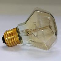 1pcs/lot  New Design 40W  Diamond Shapes Edison Light Incandescent Bulb Edison Antique Vintage Bulb 110V/220V