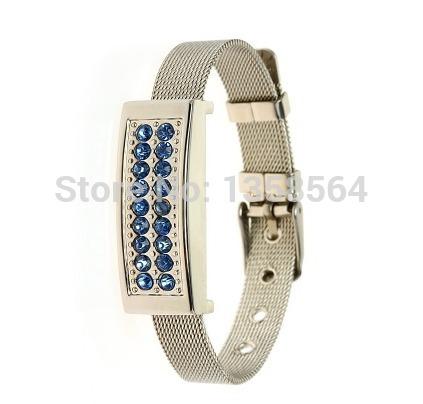 Jewelry Bracelet USB Flash Drive 64GB Jewelry Pendrive Wristband 32GB Colorful Crystal Jewelry pendrives 16GB 8GB(China (Mainland))