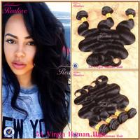 "Human Hair Brazilian body wave 3pc 8""-30"" brazilian virgin hair cheap brazilian hair weave bundles remy human hair extensions"