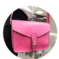 2014 small fresh one shoulder cross-body women's handbag ice cream color jelly mini bag vintage