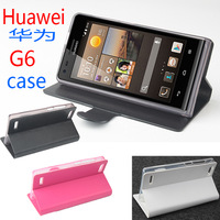 Huawei G6 Leather Moblie Phone PU Case Cover Free Shipping