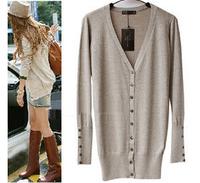 2014 Ladies knitted shawl cardigan sweater coat cardigan feminino com renda cashmere wool sweater women
