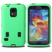 Hybrid Rugged Heavy Duty Rubber Robot Silicone PC Hard Case Cover for Samsung Galaxy S5 i9600