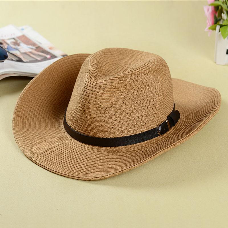 Straw Beach Hats For Men 2014 Sunscreen Straw Hat Men