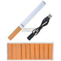 Top Quality !Mini V9 Health Electronic Cigarette eGo With Blister Kits USB Rechargeable Environmental E cigarette b7 SV005749