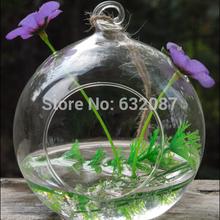 Diameter = 12cm 6pcs/pack Wedding Decoration Glass Terrarium Candle Holder Event and Part Decorative Hanging Glass Candle Holder