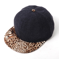 Spring 2014 fashion new Leopard flat brimmed hat lady hat hip hop cap baseball cap hats wholesale