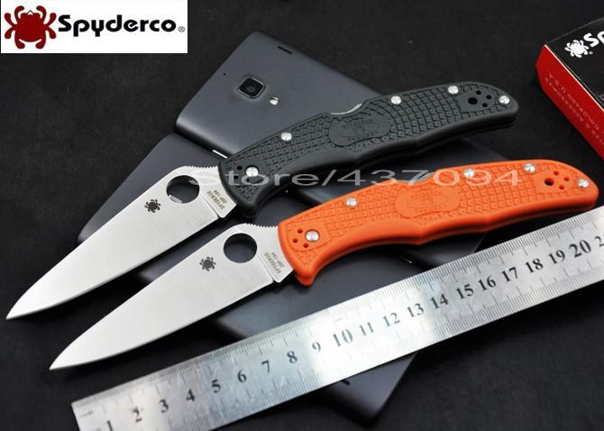 Spedizione gratuita Spyderco c10 pgre zdp- 189 coltelli tattici vg-10 sopravvivenza all'aperto campeggio pieghevole coltello coltelli, strumenti di caccia