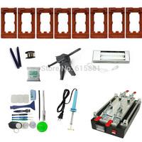 Full Tools Kit LCD Screen Separator Machine Repair Broken Glass Lens for iPhone Samsung