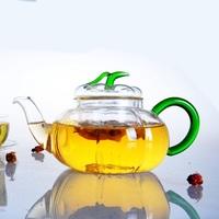 800ml fancy design glass teapot, exquisite household  glass kettle, enjoy you tea time
