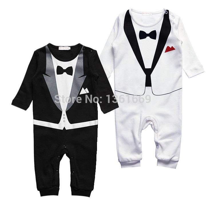 Baby Boy Kid Casual Romper Gentleman Pants long sleeve climb clothes Sets Dropshipping baby clothing for boys kids #2 19873(China (Mainland))